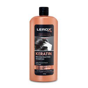 شامپو  موی سر کراتینه 550 گرمی لروکس