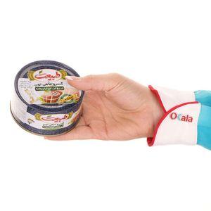 سوپر مارکت اینترنتی کنسرو ماهی تن در روغن 180 گرمی طبیعت