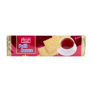 بیسکوییت پتی بور وانیل 125 گرمی شیرین عسل