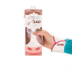 خرید اینترنتی شیر کاکائو یک لیتری سحرسان