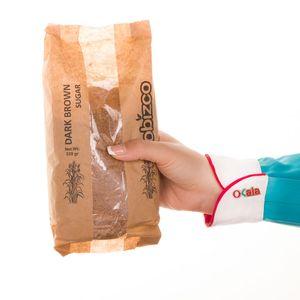 سوپر مارکت اینترنتی شکر قهوه ای دارک پاکتی 530 گرمی کوبیزکو