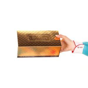 فروشگاه اینترنتی دستمال کاغذی  100 برگ سه لایه طلایی سافتلن