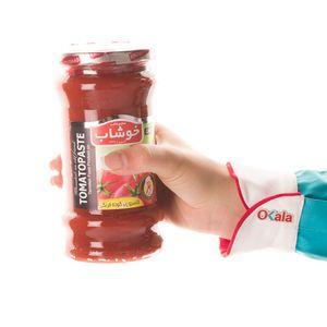 خرید اینترنتی رب گوجه فرنگی شیشه 600 گرمی خوشاب