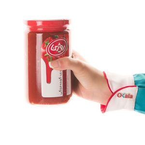 خرید اینترنتی رب گوجه فرنگی شیشه 700 گرمی روژین