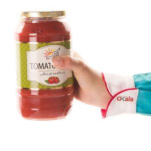 سوپر مارکت اینترنتی رب گوجه فرنگی شیشه 1600 گرمی تک