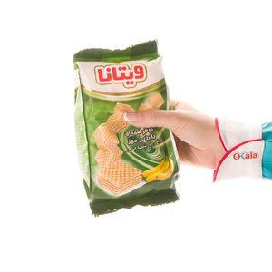 سوپر مارکت اینترنتی ویفر لقمه ای موزی 105 گرمی ویتانا