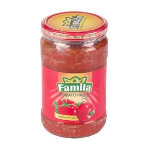 سوپر مارکت اینترنتی رب گوجه فرنگی شیشه ای 700گرمی فامیلا