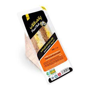 ساندویچ کلاب ژامبون مرغ عمل آوری شده 70 درصد پانی