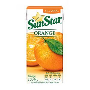 نوشیدنی پرتقال 200 سی سی سان استار