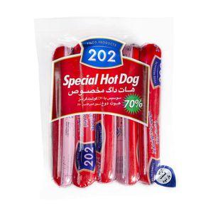 وکیوم هات داگ ویژه 70% 420 گرم202