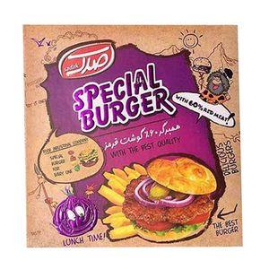 همبرگر مخصوص 60% 500 گرمی صدک
