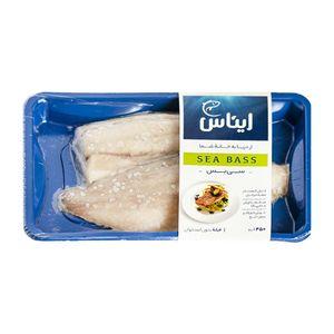 فیله ماهی سی بس منجمد 450 گرمی ایناس