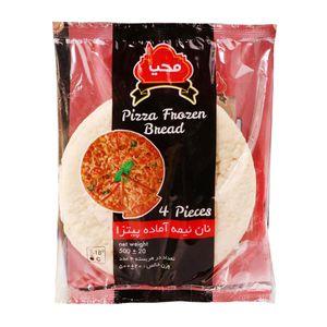 نان پیتزا نیمه آماده 4عددی محیا