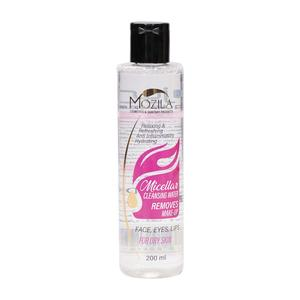 پاک کننده آرایش مناسب پوست خشک 200میلی لیتر موزیلا