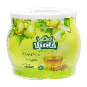 دم نوش میوه ای سیب و دارچین 70 گرمی فامیلا