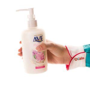 سوپر مارکت اینترنتی مایع دستشویی کرمی ویتامینه شیر و شکوفه 450گرمی اوه