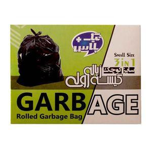 کیسه زباله سه رول کوچک 50*60 سانتیمتر تیک پلاس