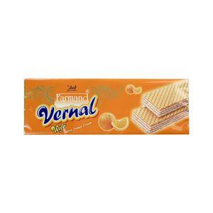 ویفر ورنال  پرتقال 190 گرمی فرمند